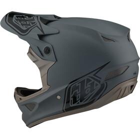 Troy Lee Designs D3 Fiberlite Casco, gris
